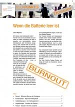 Keine Angst vor Burnout-Selbsthilfegruppen